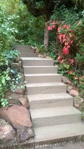 coffrage d'escalier